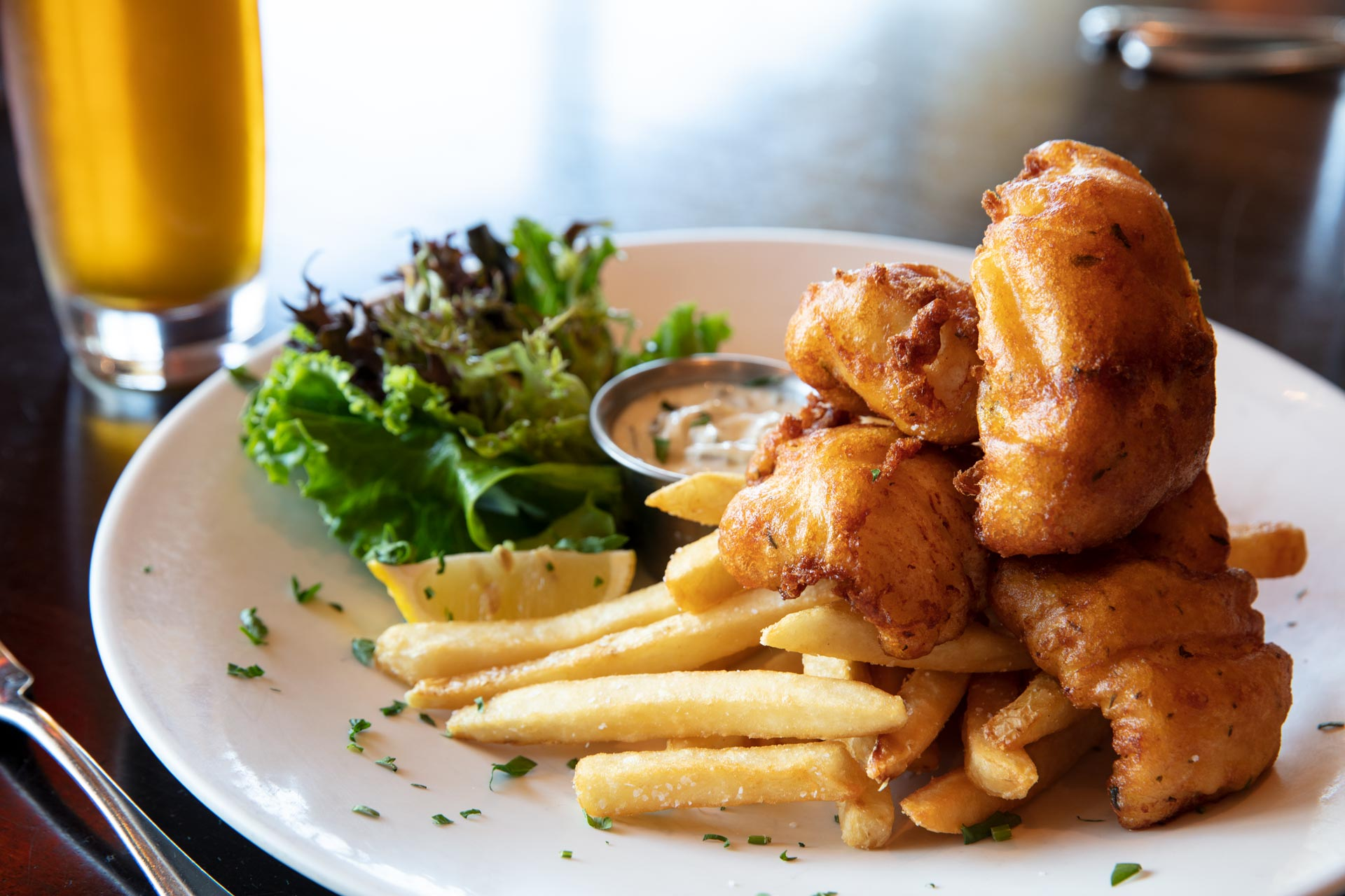 Beer Battered Walleye