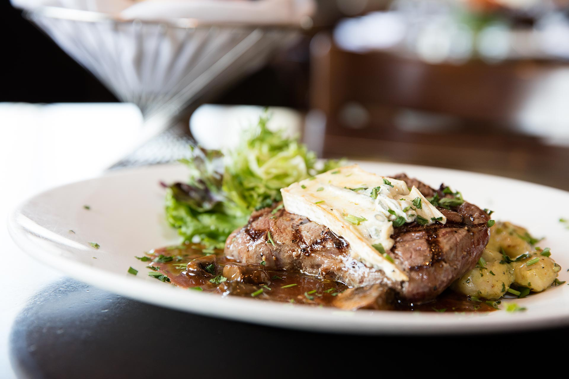 Olives is the best place to get a delicious steak in Mankato, Minnesota.